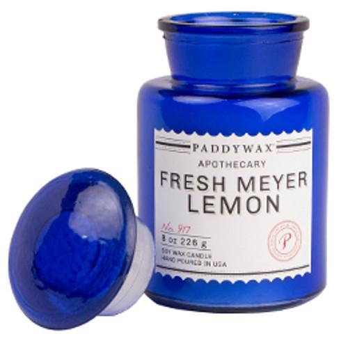 Paddywax Fresh Meyer Lemon Apothecary Candle