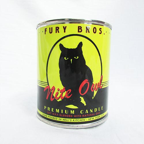 Fury Bros Nite Owl Candle