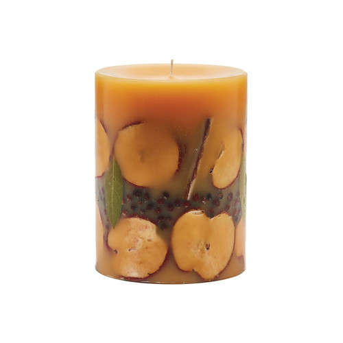 Rosy Rings Signature Collection Roman Spicy Apple Botanical 5 x 6.5 Pillar Candle