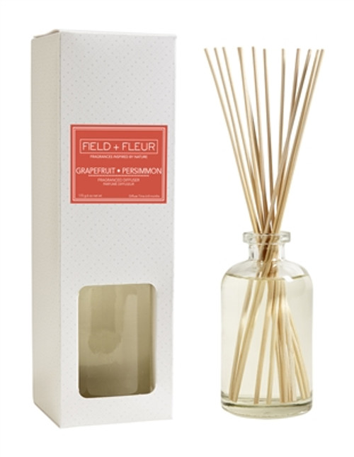 Hillhouse Naturals Grapefruit Persimmon Reed Diffuser