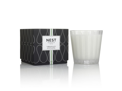 Nest Fragrances Tarragon & Ivy Three Wick Candle
