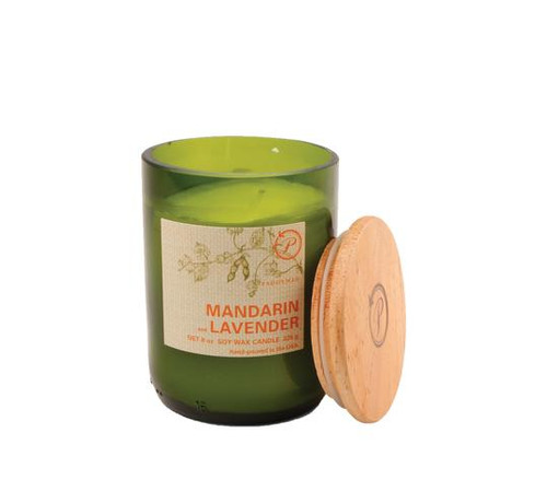 Paddywax Mandarin Lavender Upcycled ECO Candle
