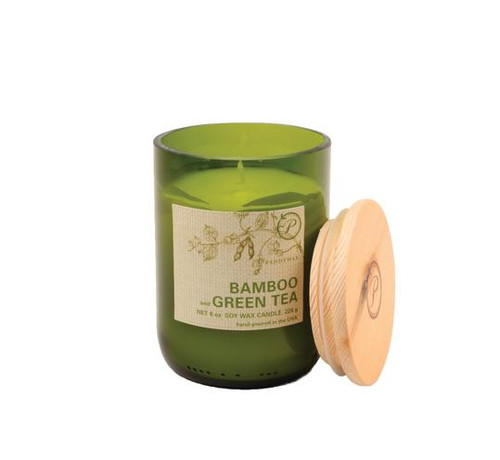 Paddywax Bamboo & Green Tea Upcycled ECO Candle