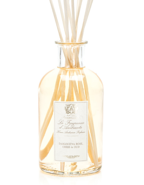 Antica Farmacista Damascena Rose, Orris & Oud Home Ambience Reed Diffuser - 500 ml