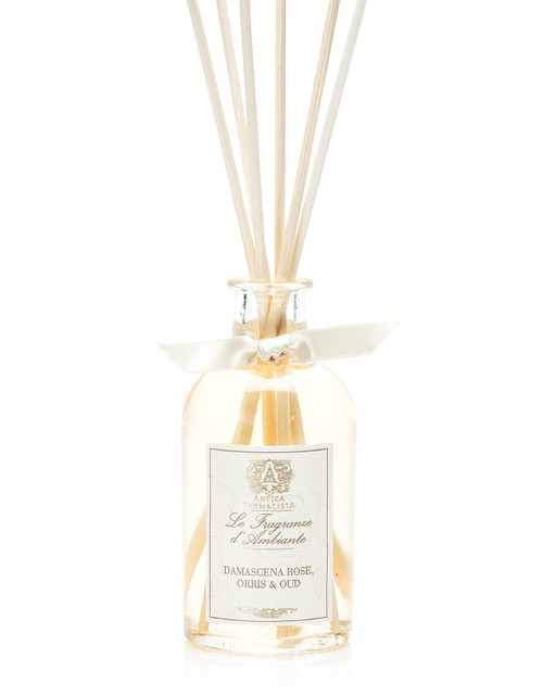 Antica Farmacista Damascena Rose, Orris & Oud Home Ambience Reed Diffuser - 100 ml