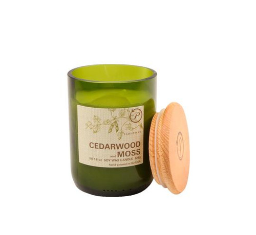 Paddywax Cedarwood and Moss Upcycled ECO Candle