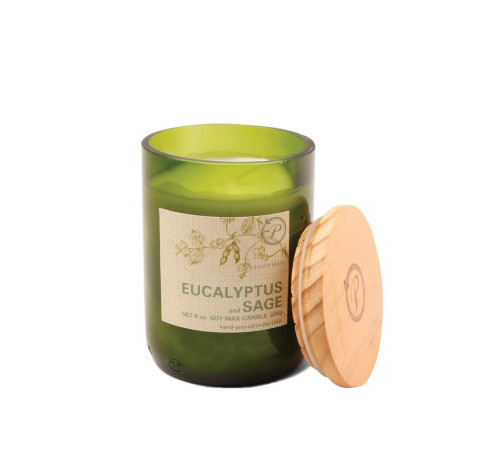 Paddywax Eucalyptus and Sage Upcycled ECO Candle