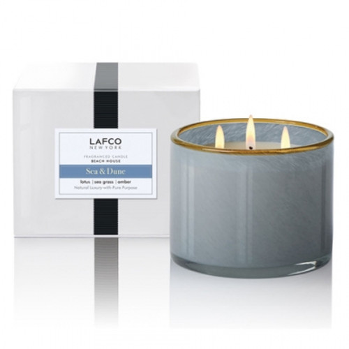 LAFCO 3 Wick 30oz /Sea And Dune / Beach House Candle