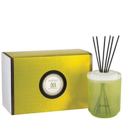 Archipelago Couleur Collection Arugula Diffuser Gift Set