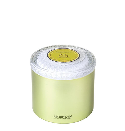 Archipelago Couleur Collection Arugula Metal Candle