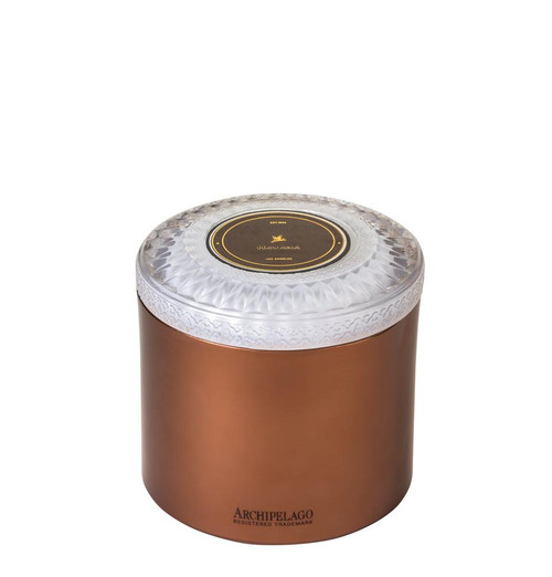 Archipelago Couleur Collection Havana Metal Candle