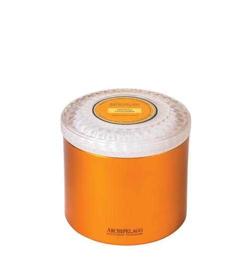 Archipelago Couleur Collection Mango Tangerine Metal Candle