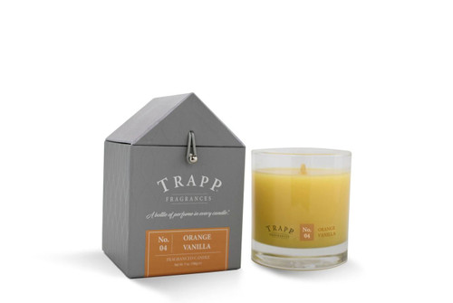 No. 4 Trapp Candle Orange Vanilla - 7oz. Poured Candle
