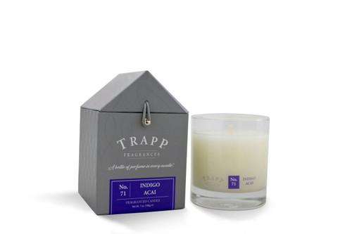 No. 71 Trapp Candles Indigo Acai - 7oz. Poured Candle