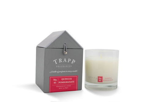 No. 61 Trapp Candles Quince & Pomegranate - 7oz Candle