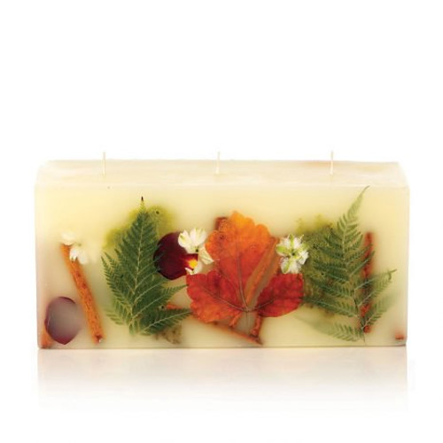 Rosy Rings Signature Collection Brick Botanical Candle – Oak Moss & Myrrh