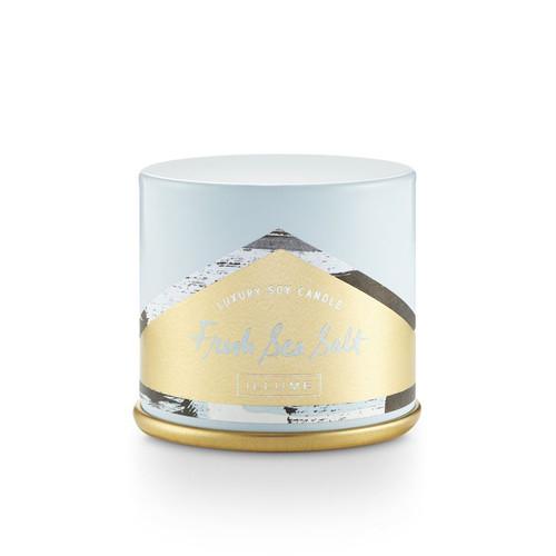 Illume Fresh Sea Salt Vanity Tin Candle