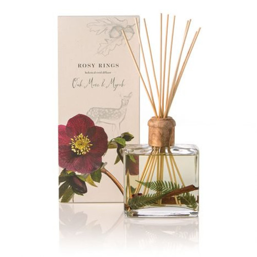 Rosy Rings Signature Collection Oak Moss & Myrrh Botanical Reed Diffuser