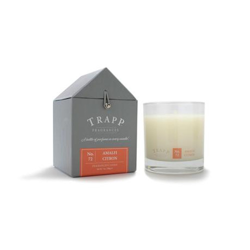 No. 72 Trapp Signature Candle Amalfi Citron - 7oz. Poured Candle