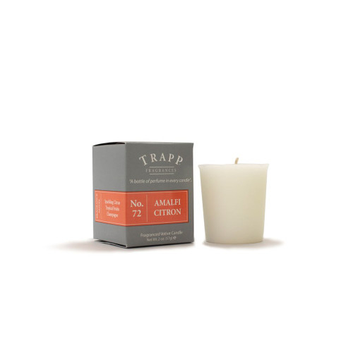 No. 73 Trapp Signature Candle Amalfi Citron 2oz Votive Candle