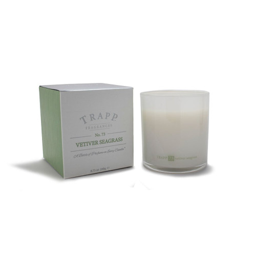 Trapp Candles Ambiance Collection No. 73 Vetiver Seagrass - 8.75 oz. Poured Candle