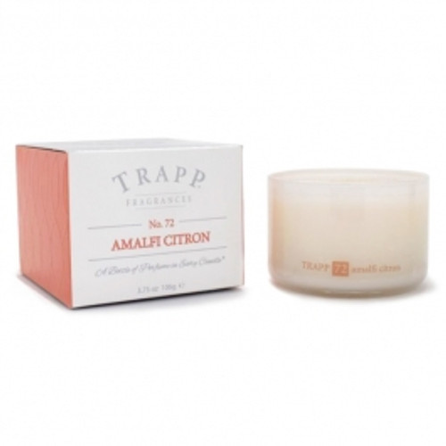 Trapp Candles Ambiance Collection No. 72 Amalfi Citron - 3.75 oz. Poured Candle