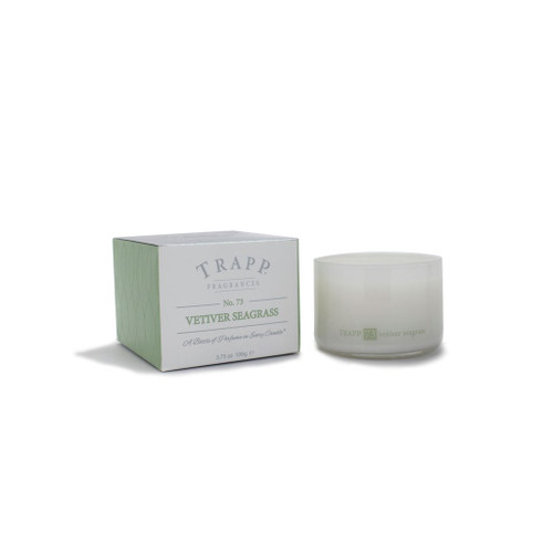 Trapp Candles Ambiance Collection No. 73 Vetiver Seagrass - 3.75 oz. Poured Candle