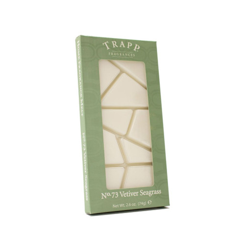 No. 73 Trapp Vetiver Seagrass - 2.6 oz. Home Fragrance Melts