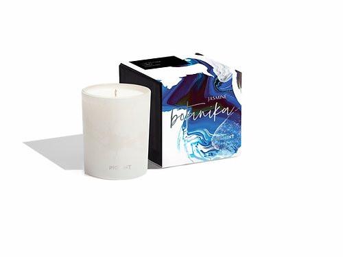Pigmint Arome Jasmine Botanika Glass Candle