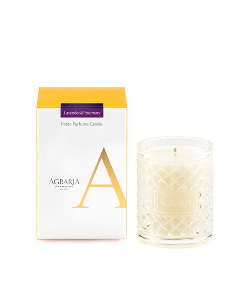 Agraria Lavender & Rosemary Petite Perfume Candle