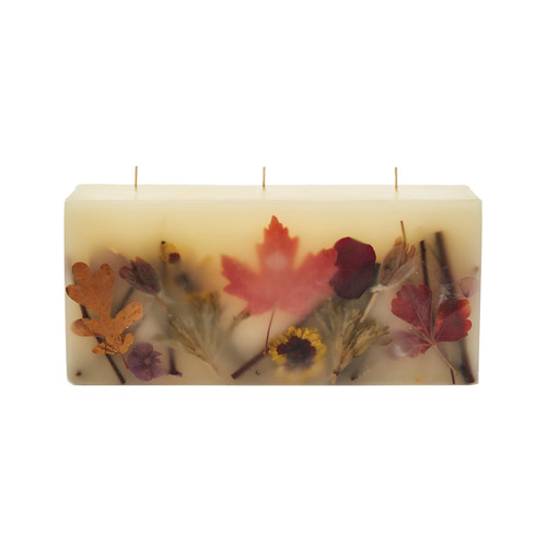 Rosy Rings Signature Collection Brick Botanical Candle – Pumpkin Cardamom