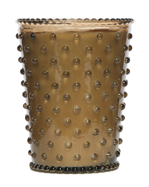 Simpatico No. 12 Nutmeg Hobnail Glass Candle
