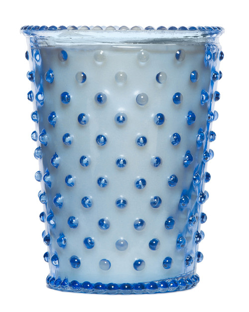Simpatico No. 64 Lavender Hobnail Glass Candle