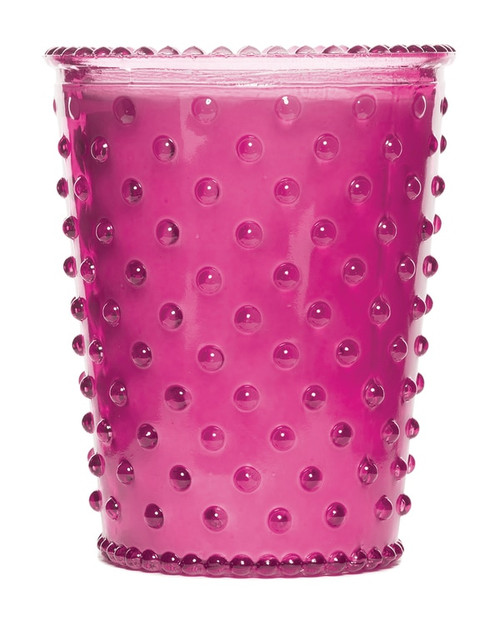 Simpatico No. 15 Grapefruit Mint Hobnail Glass Candle