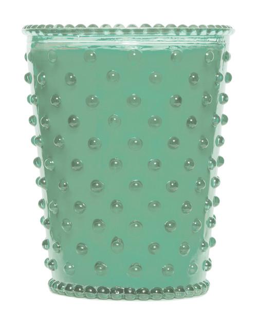 Simpatico No. 95 Eucalyptus Hobnail Glass Candle