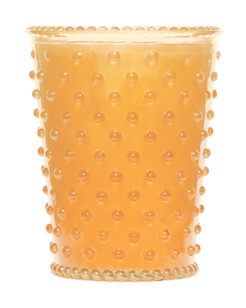 Simpatico No. 87 Orange Blossom Hobnail Glass Candle