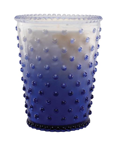 Simpatico No. 63 Limited Edition Patchouli Violet Hobnail Glass Candle
