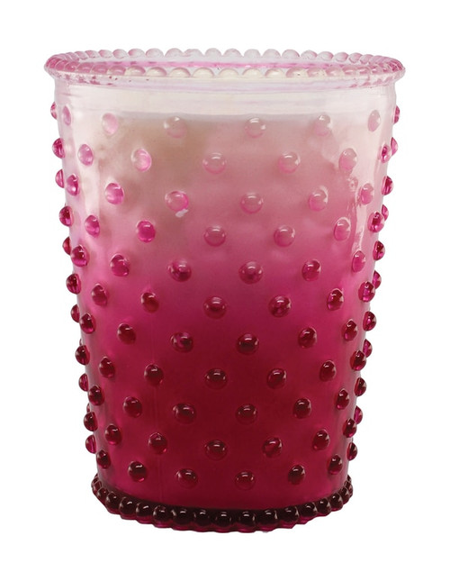 Simpatico No. 61 Limited Edition Berry Wine Hobnail Glass Candle