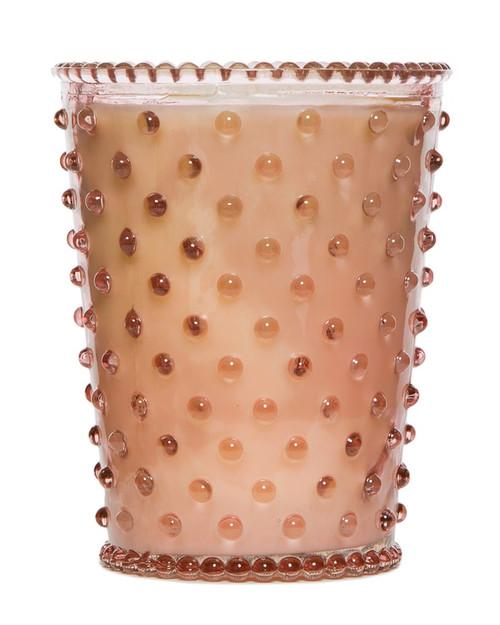 Simpatico No. 59 Chestnut Hobnail Glass Candle