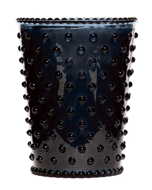 Simpatico No. 88 Midnight Hobnail Glass Candle