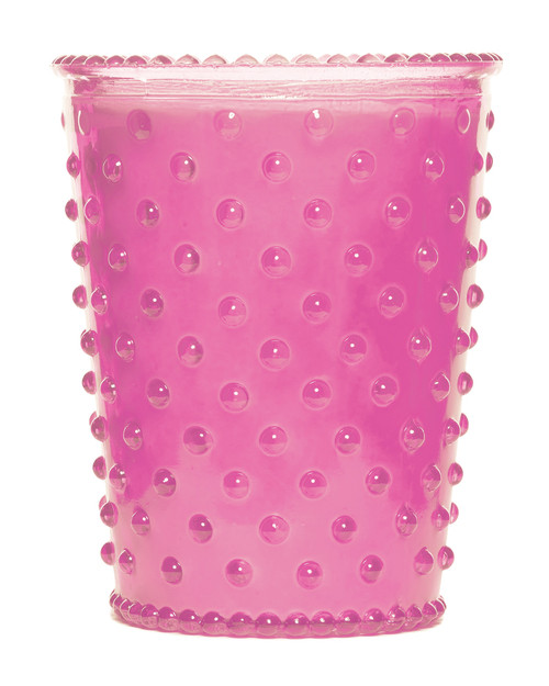 Simpatico No. 60 Lychee Hobnail Glass Candle
