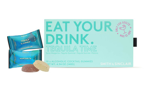 Smith & Sinclair Tequila Time Alcoholic Cocktail Gummies