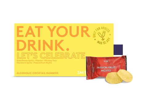Smith & Sinclair Let's Celebrate Alcoholic Cocktail Gummies