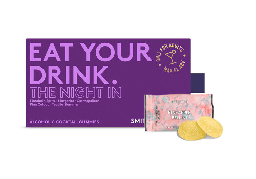 Smith & Sinclair The Night In Alcoholic Cocktail Gummies