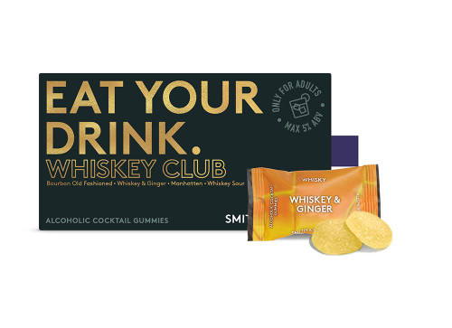 Smith & Sinclair Whiskey Club Alcoholic Cocktail Gummies