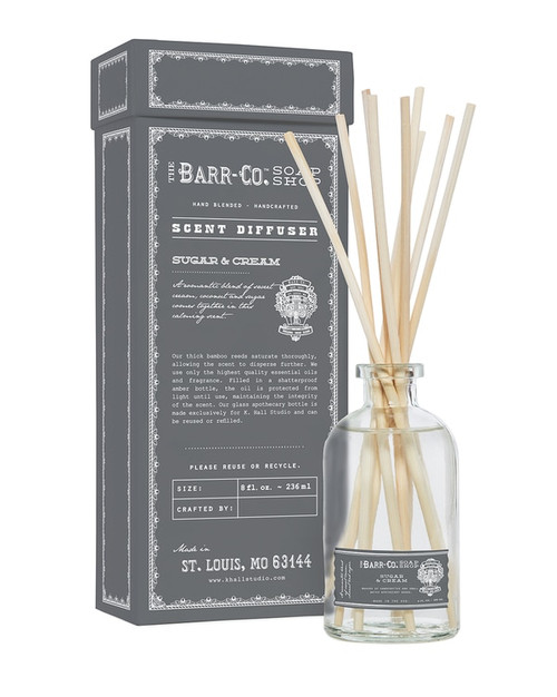 Barr-Co. Sugar & Cream Scent Diffuser Kit