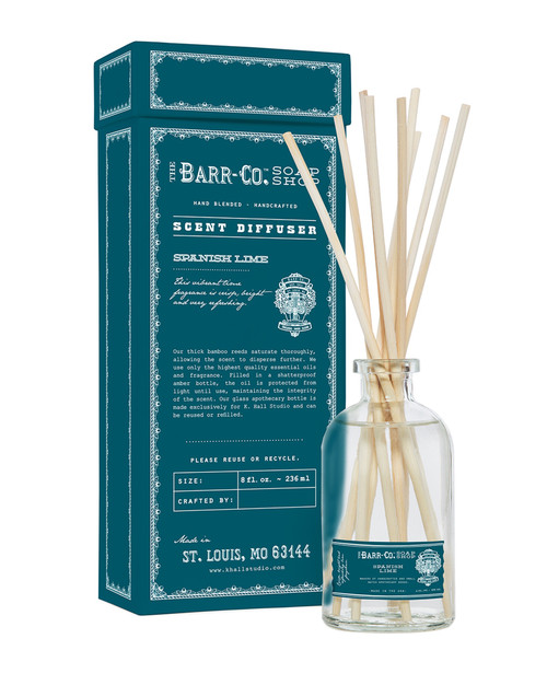 Barr-Co. Spanish Lime Scent Diffuser Kit