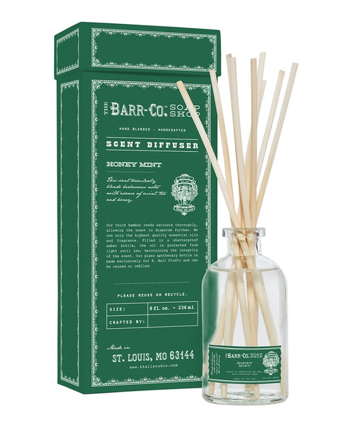 Barr-Co. Honey Mint Scent Diffuser Kit