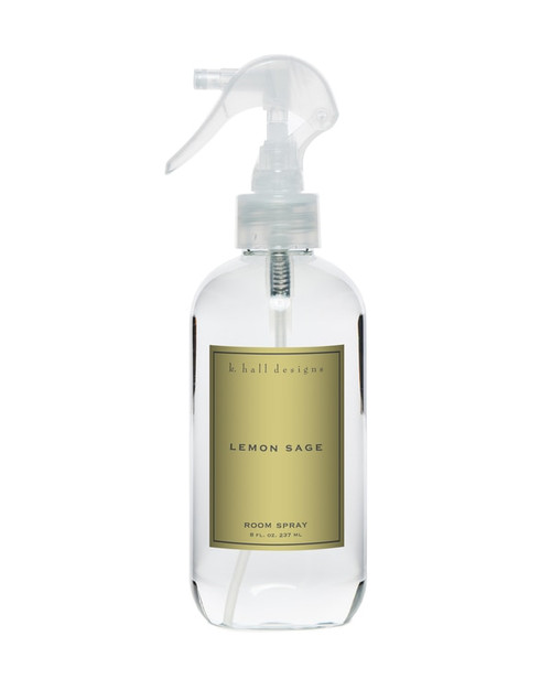 K. Hall Designs Lemon Sage Room Spray