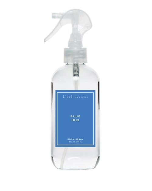 K. Hall Designs Blue Iris Room Spray